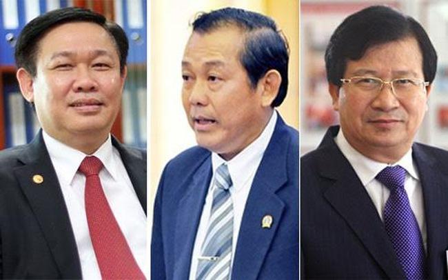 Chính phủ có 21 lãnh đạo cấp cao mới