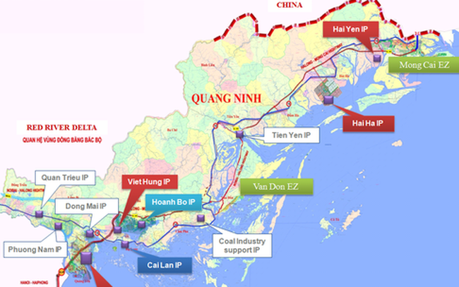 Quảng Ninh sắp có dự án tổ hợp cảng biển và KCN trị giá gần 7 nghìn tỷ đồng