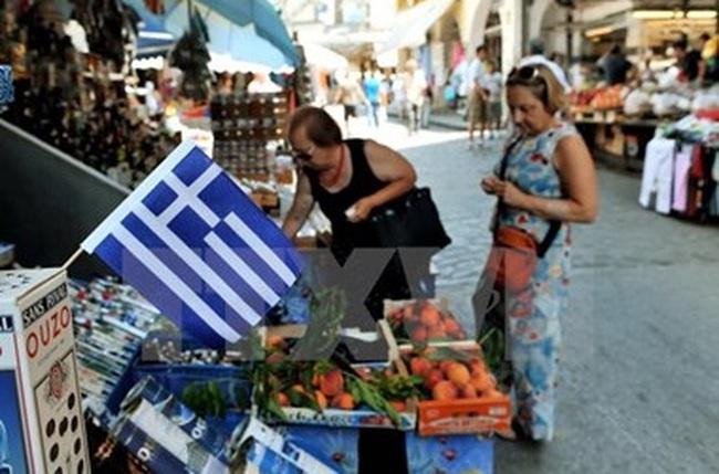 Hy Lạp chính thức thoát khỏi 33 tháng giảm phát kéo dài