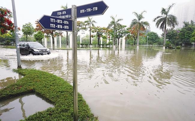 Các khu đô thị mới tại Hà Nội trước trận mưa: Càng xây, càng lụt!