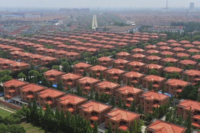 Tận thấy vẻ tráng lệ xa hoa của ngôi làng giàu nhất ở Trung Quốc