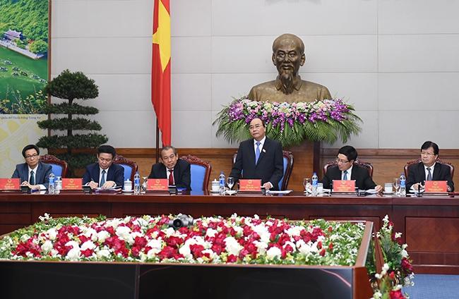 Phân công công tác của Thủ tướng, các Phó Thủ tướng