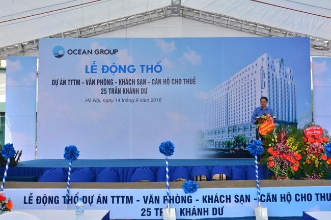 Ocean Group tái khởi động hoạt động đầu tư bằng dự án 25 Trần Khánh Dư