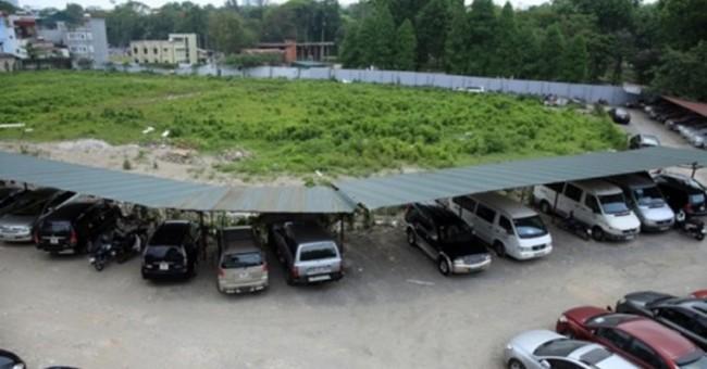 Hà Nội: Chuẩn bị xây dựng 5 dự án bãi đỗ xe lớn nhất