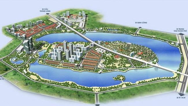 Hà Nội có thêm khu đô thị lớn phía Nam hồ Linh Đàm