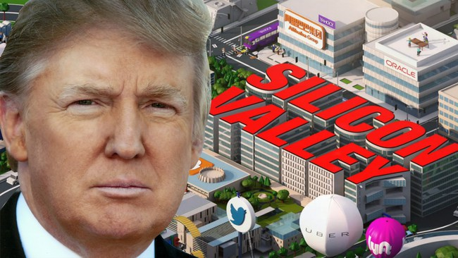 Lãnh đạo Apple, Amazon, Google, Intel và một loạt CEO của thung lũng Silicon được mời tới dự hội nghị của Donald Trump