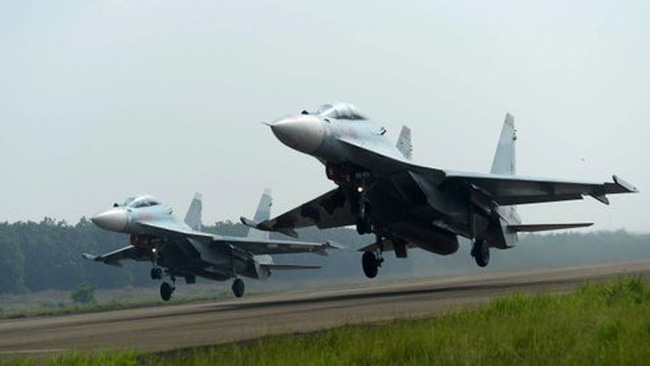 Tìm thấy phi công máy bay tiêm kích Su30 - MK2