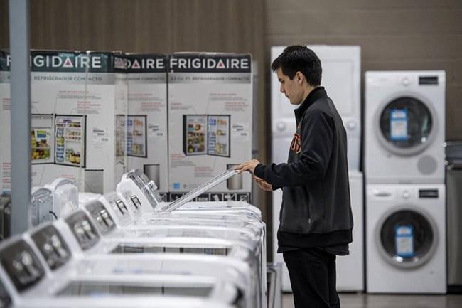 Mỹ cảnh báo áp thuế chống bán phá giá máy giặt của Trung Quốc