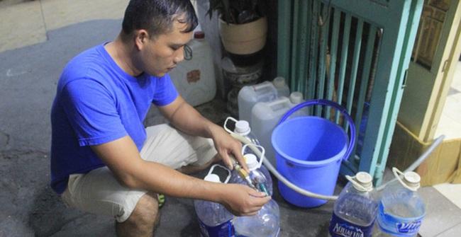 Chung cư ở Sài Gòn 19 năm không có nước sạch để sử dụng