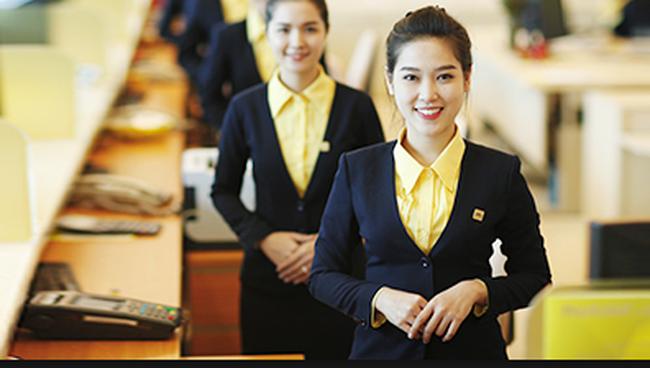 Thu nhập của nhân viên ngân hàng Nam Á là 14 triệu đồng/tháng
