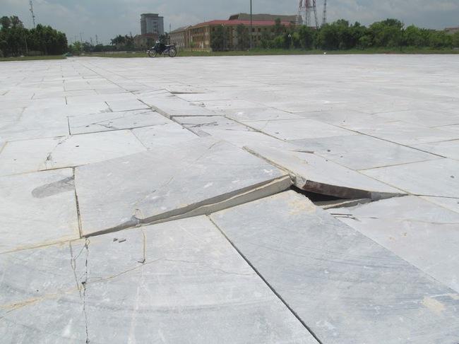 Ninh Bình: Công trình hơn 1.500 tỉ chưa xây xong đã… hư hỏng?
