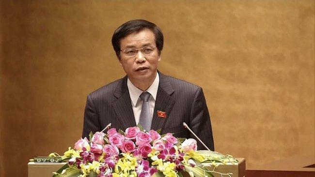 Giới thiệu ông Nguyễn Hạnh Phúc tái cử Tổng thư ký Quốc hội
