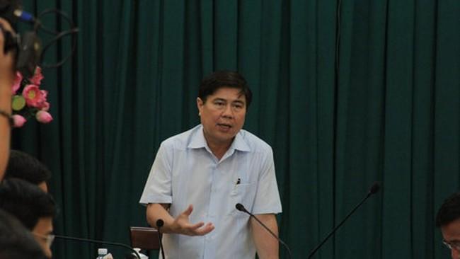 Chủ tịch Nguyễn Thành Phong:Quản lý thoát nước của TP.HCM đang có vấn đề