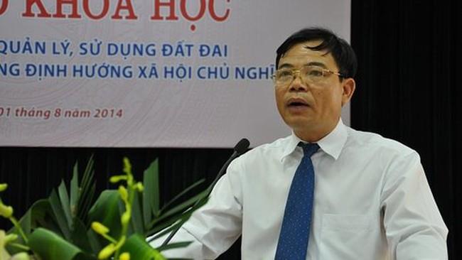 Đề nghị phê chuẩn ông Nguyễn Xuân Cường làm Bộ trưởng NN&PTNT