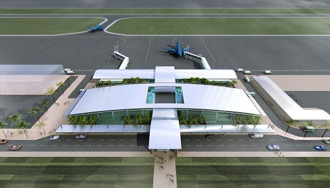Sun Group xin đầu tư toàn bộ sân bay Lào Cai