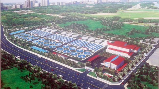 Hà Nội xây nhà máy xử lý nước thải 16.200 tỉ đồng