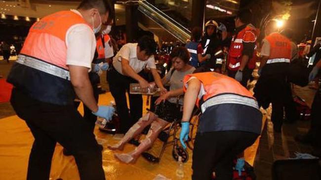 Nổ trong tàu điện ở Đài Loan, ít nhất 24 người bị thương