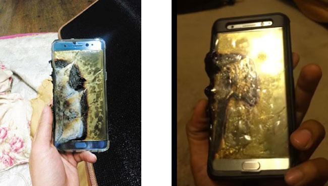 Điện thoại phát nổ, Samsung triệu hồi Galaxy Note 7 trên toàn cầu