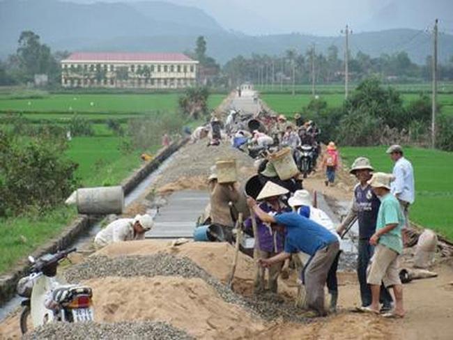 Thanh Hóa: Gần 1.000 tỷ đồng tiền nợ xây dựng nông thôn mới