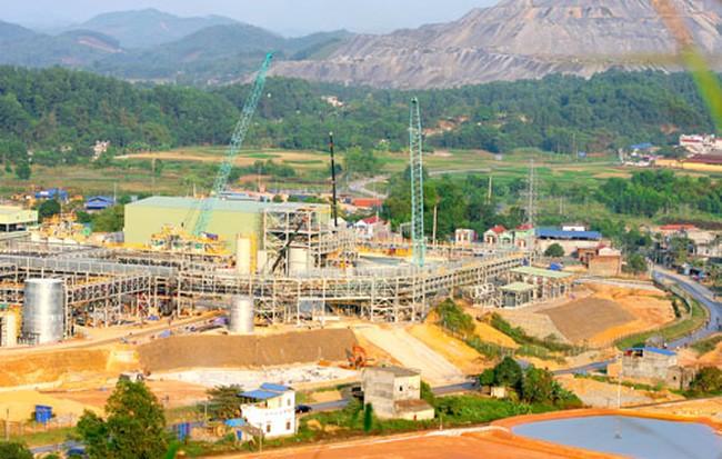 Hôm nay bắt đầu thanh tra môi trường dự án núi Pháo