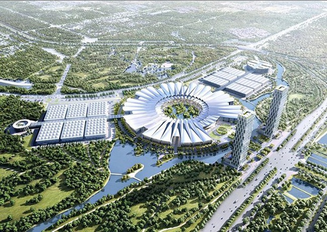 Triển khai DA Trung tâm Hội chợ triển lãm quốc gia