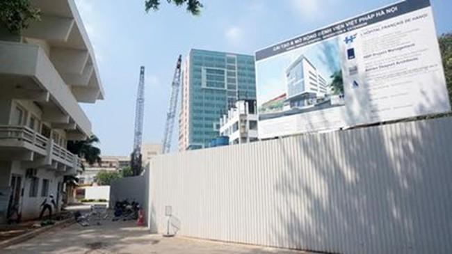 Bệnh viện Việt Pháp mở rộng lên gấp đôi