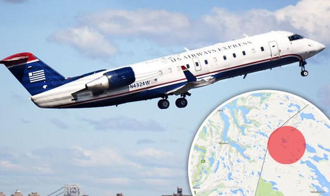 Máy bay mất tích ở Na Uy