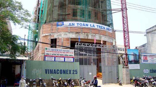 Vinaconex 25 chốt quyền nhận cổ tức bằng tiền tỷ lệ 22%