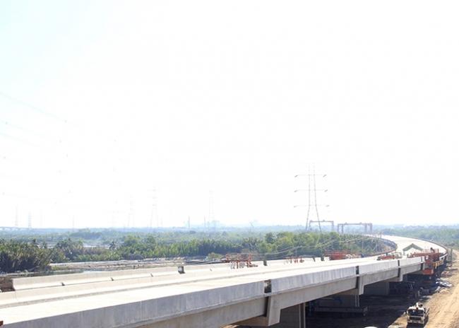 Dự án cao tốc Bến Lức – Long Thành vướng mặt bằng tại TP.HCM