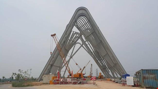 Cổng chào gần 200 tỷ thuộc cụm dự án 470 tỷ