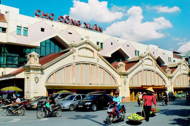 Hà Nội: Mức thu phí chợ Đồng Xuân tối đa 750 nghìn đồng/m2/tháng