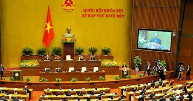 Quốc hội thảo luận dự án luật dược và luật thuế xuất khẩu