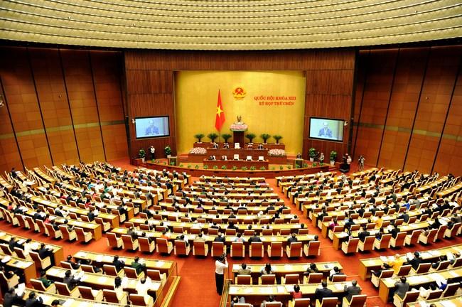 Chính thức khai mạc kỳ họp thứ nhất, Quốc hội khóa XIV