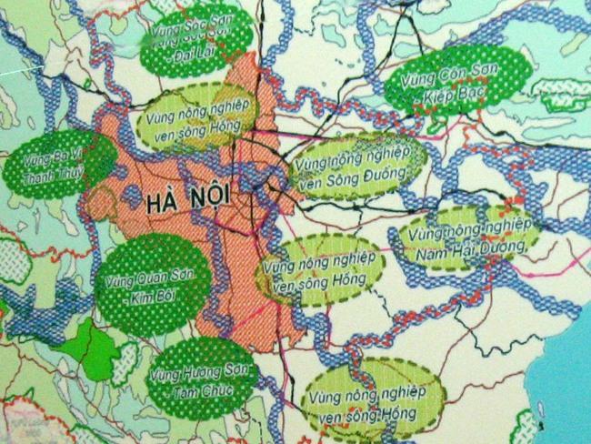 Hà Nội đã được phê duyệt kế hoạch sử dụng đất ngoại thành năm 2016