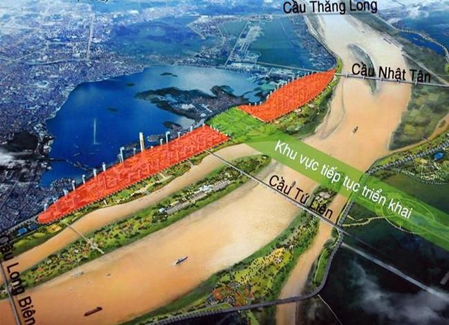 Hà Nội: Dự kiến đổ hơn 2 tỷ USD làm đường dọc sông Hồng