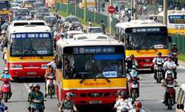 Dự án vận tải hành khách bằng xe buýt được hỗ trợ lãi suất