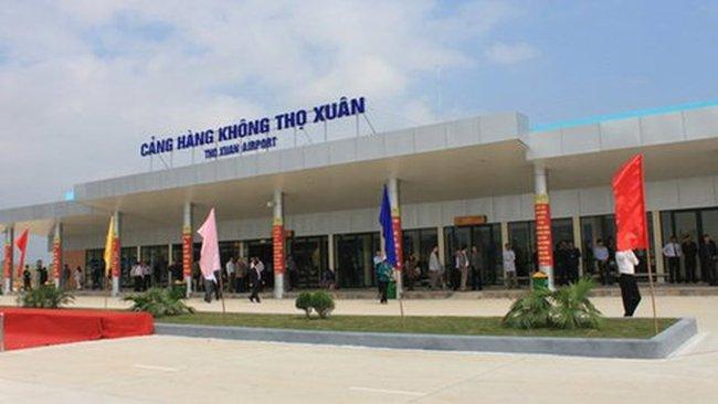 Đề nghị nâng cấp sân bay Thọ Xuân thành cảng quốc tế