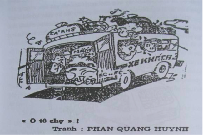 Ký ức kinh tế Việt Nam thời bao cấp qua tranh biếm hoạ