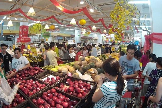 Nhiều siêu thị ở Hà Nội mở cửa sớm nhất là ngày mùng 2