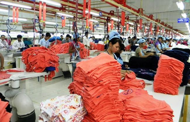 Xuất khẩu hàng dệt may quý I tăng 5,67%