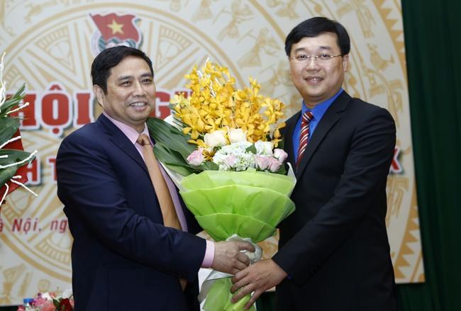 Anh Lê Quốc Phong làm Bí thư thứ nhất Trung ương Đoàn