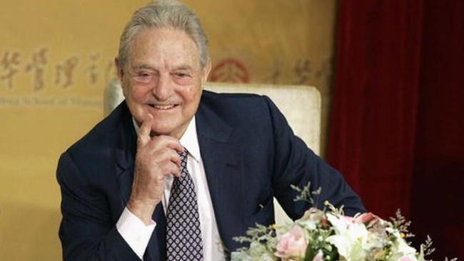 """Trung Quốc cáo buộc tỷ phú Soros """"tuyên chiến với đồng NDT"""""""