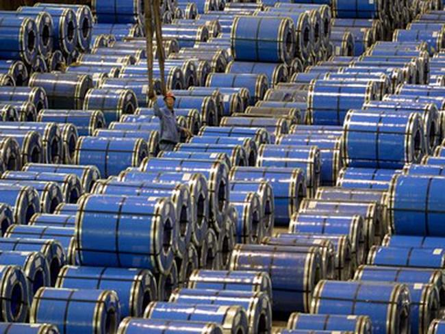 Sản lượng thép thế giới sụt giảm lần đầu tiên trong 5 năm qua