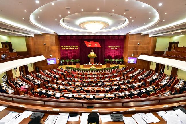 Khai mạc Hội nghị Trung ương 4 (khóa XII)