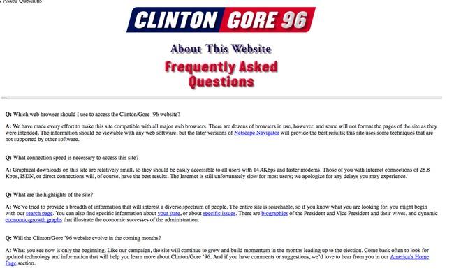 Website tranh cử của các ứng viên Tổng thống Mỹ đã thay đổi như thế nào?