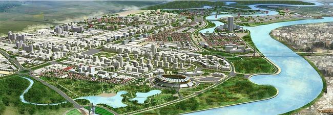 Hải Phòng: Siêu đô thị Bắc Sông Cấm 10.000 tỷ được quy hoạch thành 4 khu chức năng chính