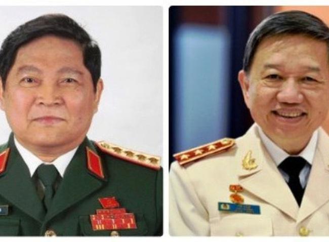 Danh sách 18 tướng lĩnh trúng cử Quốc hội khóa 14
