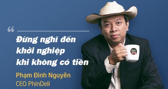 """Kết quả hình ảnh cho 2. """"Đừng nghĩ đến khởi nghiệp khi không có tiền"""", Phạm Đình Nguyên, CEO PhinDeli """""""