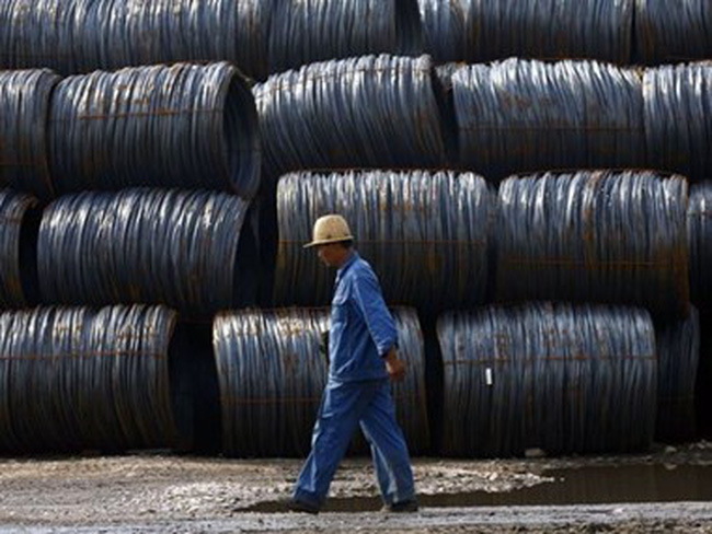 Ấn Độ nằm trong số các nước có mức giá thép thấp nhất thế giới
