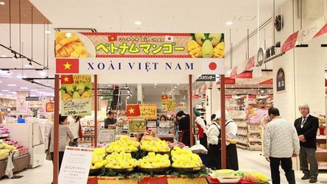"""Nhật """"bật đèn xanh"""" mở thêm cửa cho nông sản Việt"""